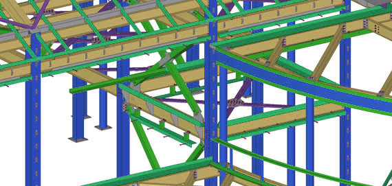High quality Steel Deatiling / Shop drawing Services and
